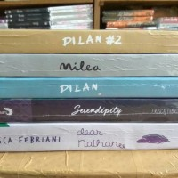NOVEL paket 5 buku dilan + dear nathan
