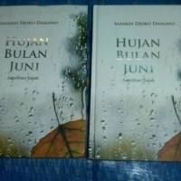 NOVEL Hujan Bulan Juni - Sepilihan Sajak - Sapardi Djoko