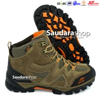 SNTA 491 Sepatu Gunung / Sepatu Hiking / Sepatu Outdoor Beige Brown