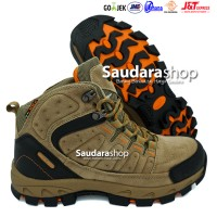 SNTA 483 Sepatu Gunung / Sepatu Hiking / Sepatu Outdoor Beige Brown