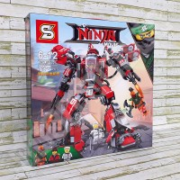 Kai Fire Mech LEGO Ninjago Movie - Brick SY926 / SY 926