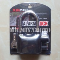 Gembok Alarm Anti Maling (Alarm Lock, Kunci Gembok Alarm) KINBAR