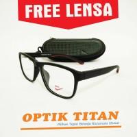 Harga frame kacamata minus baca pria wanita nike 0103 maron | Pembandingharga.com