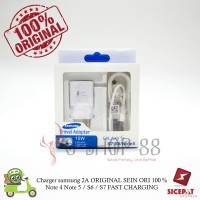 Charger samsung 2A ORIGINAL SEIN ORI 100 % Note 4 Note 5 / S6 / S7
