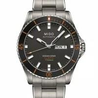 Jam Tangan Pria Mido Ocean Star Captain M026.430.44.061.00 TITANIUM
