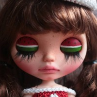 READY STOCK Boneka Neo Blythe Factory Doll (sudah di face up)
