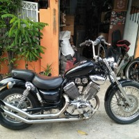 Yamaha moge / Yamaha XV 535 / Yamaha virago 535