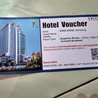 voucher star hotel