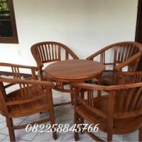 Meja Kursi Tamu Model Betawi, Kursi Teras Hias Ruang Depan Jati Tua