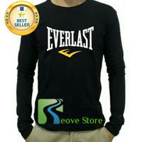 Kaos Lengan Panjang Everlast Distro Keren - Reove Store