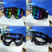Kacamata Goggle motocross sepeda extreme sport airsoft gun