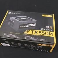 PSU CORSAIR TX650M GOLD POWER SUPPLY 650 WATT TX650