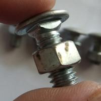 Baut Dan Mur DIN603 Leher Persegi Cable kabel Tray Ladder