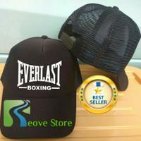 Topi Trucker Everlast Boxing Baseball Snapback - Reove Store