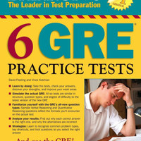 Buku Barron's 6 GRE Practice Test 2nd Edition