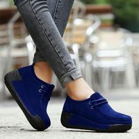 sepatu wanita mx boot biru