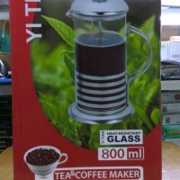 Cyprus French Press / Plunger / Coffee Maker 800 Ml For 8 Cups