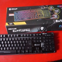 Harga Rexus K9 Fortress Backlit Floating Keys Gaming Keyboard   REX K9 | WIKIPRICE INDONESIA