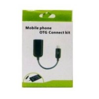 Micro Usb OTG Female Cable/Kabel Micro Usb OTG On The Go