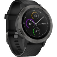 Garmin Vivo Active 3 Smartwatch - Black with Slaten