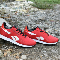 MENARIK Sepatu Casual Reebok Classic Grade Ori Merah Putih - Sport Ke