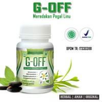 Obat Pegal Linu dan Asam Urat G-OFF, 100% Herbal