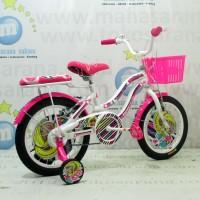 Harga promo wimcycle barbie ctb af sepeda anak 16 inci lisensi kado | Pembandingharga.com