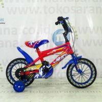 Harga best seller 12in lazaro 2301 max bmx sepeda anak laki laki usia 2 4 | Pembandingharga.com
