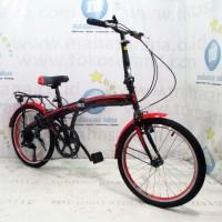 Harga best seller 20in evergreen eg120 8 hi ten steel 7 speed v brake | Pembandingharga.com