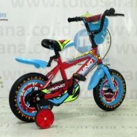 Harga hot deal 12in erminio 2309 fire bmx sepeda anak laki laki usia 2 4 | Pembandingharga.com