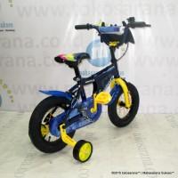 Harga terlaris 12in wimcycle batman bmx lisensi sepeda anak laki laki | Pembandingharga.com
