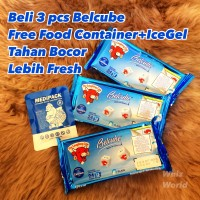 Keju Belcube Baby Cheese Spread Keju Bayi MPASI 125 gr