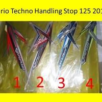 Motor Honda Vario 2016 125 Tech HS Stiker / Lis / Striping / Stripping