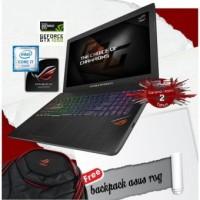 Laptop Gaming ASUS ROG GL553VD-FY280/8GB RAM/1TB/15,6''/DOS/RESMI
