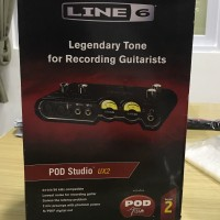 Gitar recorder recording guitarist LINE6 Line 6 POD STUDIO UX2