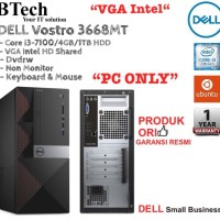 "DELL Vostro 3668MT Core i3-7100 ""PC ONLY"""