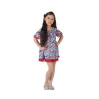 A14371 Dress Anak Motif Bunga - 1DORA