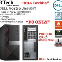 "DELL Vostro 3668MT Core i3-7100 + VGA Invidia ""PC ONLY"""