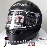 Jual KBC Helm VK Solid - Deep Black Doff SG | Fullface DDring Visor