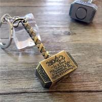 gantungan kunci/key chain palu thor, Mjolnir hammer, marvel, avengers