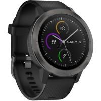 Garmin Smartwatch Vivo Active 3 Black Slate Garansi TAM 2Tahun