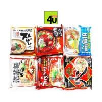 Paldo Ramyun 1 - Jang, Teumsae, Bibim, Kimchi, Seafood, Hwa - 120g