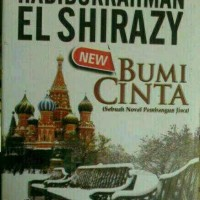 buku novel BUMI CINTA by ELZIRAZY