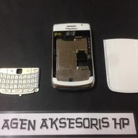 Casing Fullset BB Onyx 2 BlackBerry Bold 9780 Housing Tulangan Backdoo