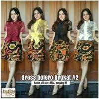 Batik Bagus Murah  !! dress bolero brokat