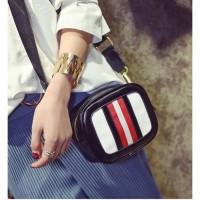 Jual tas slempang slings bag ootd wanita fashion like gucci guess mini kece Murah