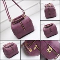 Harga tas sandang shoulder hand bag dark purple charles and keith fendi | antitipu.com