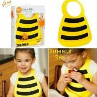 Make My Day Silicone Bib - Bumble Bee
