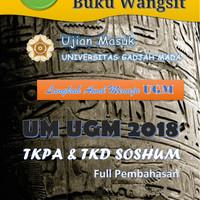 PAKET Buku Wangsit UM UGM 2018 Program IPS