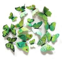 Bagus Stiker kupu kupu/walpaper dinding/hiasan dinding